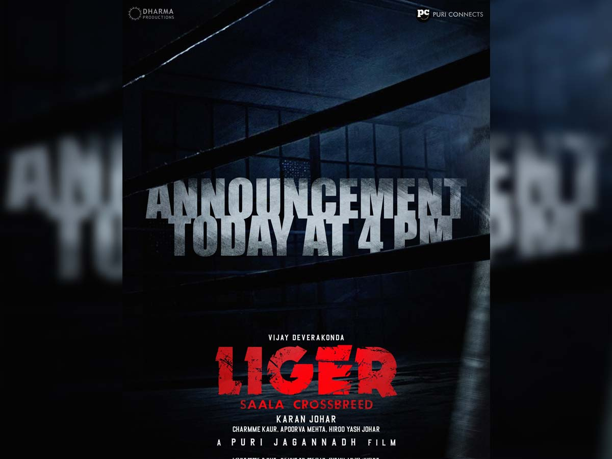 Get ready for blast: Liger packed to unleash today @ 4 pm