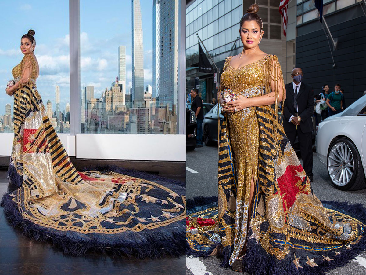 Hyderabad based Sudha Reddy the only Indian at Met Gala 2021