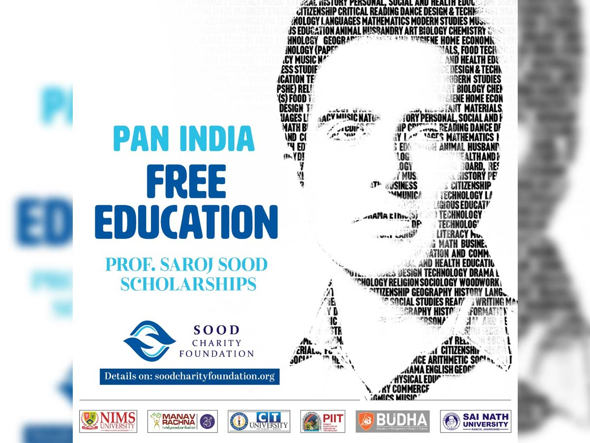 Sonu Sood to provide free college education to needy and deserving students