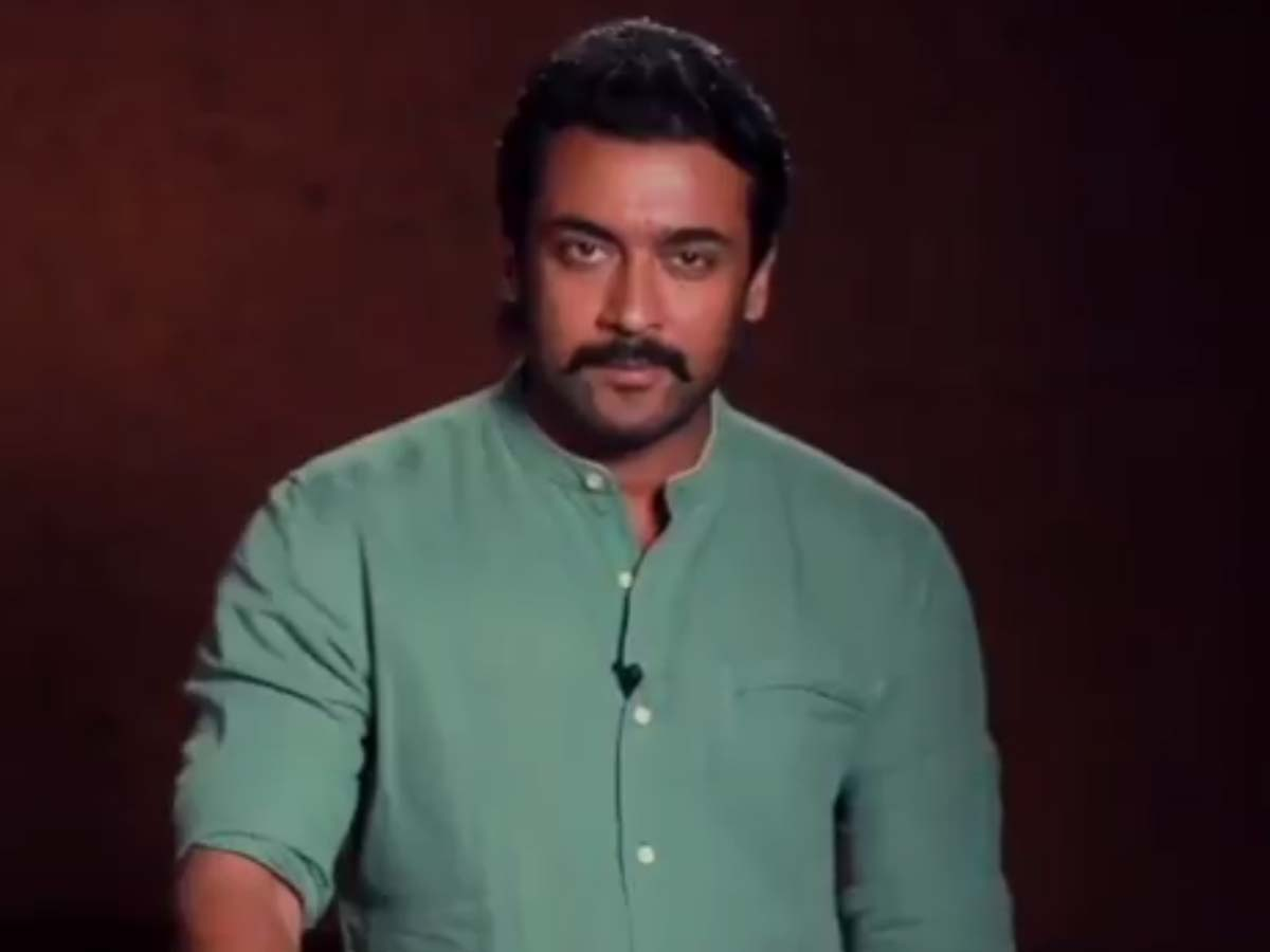 Suriya voice out for Students