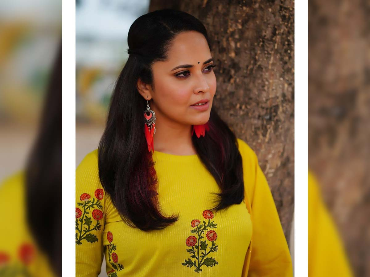 Anasuya fires and shares a cryptic post: Just wondering how did the results change overnight?